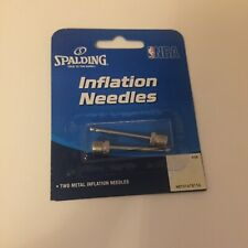 Spalding Nba Inflation Needles Metal Two Pack Basketball New And Sealed