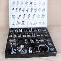 32pcs Multi Function Domestic Sewing Machine Presser Foot Feet Accessories Kits