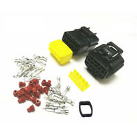 KFZ Stecker Set 10 polig Steckverbindung wasserdicht Motorrad Auto LKW Boot Car