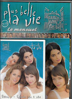 DVD + MAGAZINE PLUS BELLE LA VIE N° 18 / NEUF, COMPLET