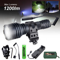 500 Yards L2 LED Hunting Light Predator Powerful Flashlight for Coyote Hog Mount