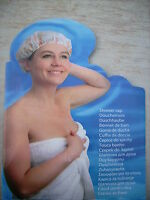 Shower Cap Duschhaube Badehaube Haarschutz Einweg Duschkappe Schutz Dusche