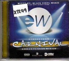 (CJ412) Street Team Carnival, Urban Flavas Mix CD - 2002 DJ CD