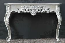 Konsole Wandtisch Antik-Finish Luxuriös prunkvoll Sideboard Barock Rokoko 83 cm