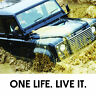 ONE LIFE LIVE IT VINYL DECAL STICKER FOR LAND ROVER 4X4 ETC DEFENDER LANDY