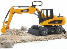 BRUDER 1:16 ESCAVATORE GOMMATO CAT  WHEEL LOADER  02445  2445