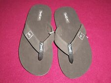 "O'NEILL ""PHLUFF DADDY"" BOYS FLIP FLOP SANDALS W/RUBBER SOLE size Large"