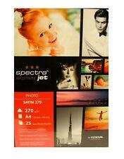 Spectra Jet Ink Jet Paper - A4 - 25 sheets - 270g - Satin