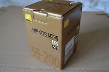 Nikon NIKKOR AF 55-200mm F/4-5.6G AF-S DX ED VR II Lens