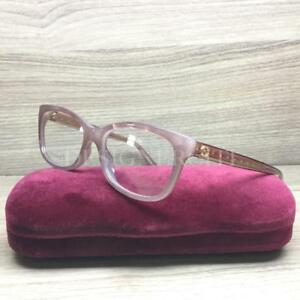 Gucci GG3822 3822 Eyeglasses Light Pink Pearl R4F Authentic 52mm