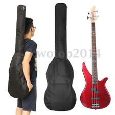 Double Travel Straps Electric Bass Guitar Bag Padded  Soft Case Backpack Gig Bag