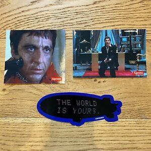 Supreme FW17 Scarface Sticker Set Bundle - Friend, Shower, Blimp