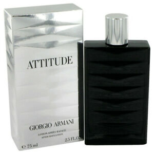 ❤️ATTITUDE Giorgio Armani After Shave,2.5oz 75 ml.splash!