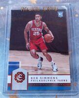 2016-2017 Ben Simmons Panini Excalibur RC#134 ROOKIE Philadelphia 76ers