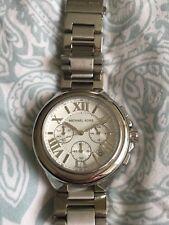 Michael Kors Ladies Chronograph Silver Watch