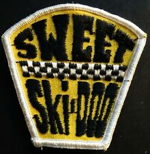 """VINTAGE SKI-DOO SNOWMOBILE PATCH NEW ABOUT 3"""" X 3"""" NICE"""