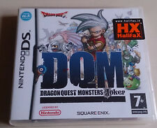 DRAGON QUEST - NINTENDO DS - COMPATIBILE 3DS - MONSTERS JOKER NUOVO - NO SWITCH!