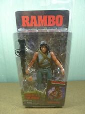 NECA JOHN J RAMBO from FIRST BLOOD Sylvester Stallone Action Figure RARE BN