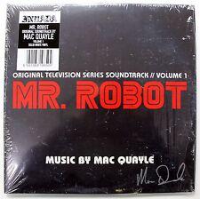 MR. ROBOT Volume 1 LP Vinyl Soundtrack Score AUTOGRAPHED Signed MAC QUAYLE New!