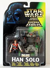 Kenner® Star Wars Actionfigur Deluxe Han Solo mit Schmuggler Spacejet 69612, NEU