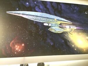 StAr TrEk prop TnG enterprise ready room   Transligh print EXCELLENT new