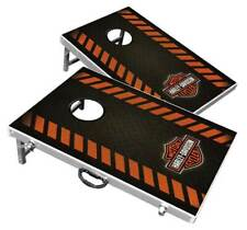 Harley-Davidson Diamond Bar & Shield Bean Bag Toss Yard Game Cornhole Game Board