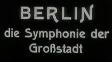 BERLIN SYMPHONY OF A CITY, 1927, Walter Ruttmann SILENT tribute: Region 2 DVD-R