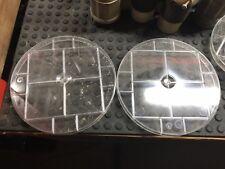 LOT OF 2 Ekstrom Industries Meter Socket Cover Clear
