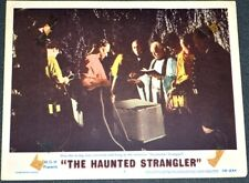 THE HAUNTED STRANGLER 1958 ORIG. 11x14 LOBBY CARD! KARLOFF HORROR EXPLOITATION!