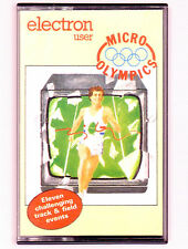 Micro Olympics (Electron User) Acorn Electron - VGC & Complete