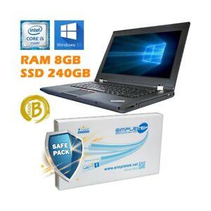 "Ordinateur Portable Lenovo THINKPAD L430 I5 3230 14 "" 8GB 240GB SSD Windows 10"