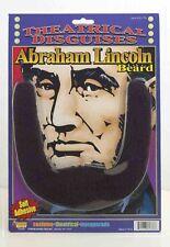 Abe Lincoln Beard Black Chin Beard Self Adhesive
