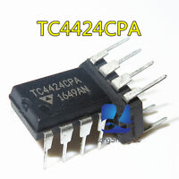1PCS TC4424 TC4424CPA TC4424EPA DIP8 NEW