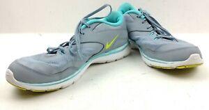 Nike Women's Flex Trainer 5 'Dove Grey Aqua' Sneaker Size 11