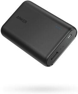 Anker 10000mAh Power Bank Portable Charger External Battery Fast-Charging Black