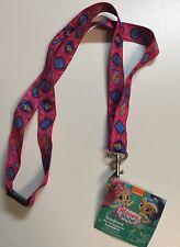 Nickelodeon Shimmer & Shine Lanyard KeyChain ID Strap Brand New 18.5 Inch