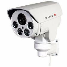 CCTV 1080P Mini Outdoor IP POE IR PTZ Camera 10x Zoom 2MP HD IP66 TF Card Slot