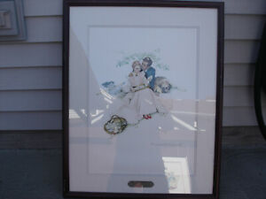 Norman Rockwell 1953 2 Prints Plate Signed Ltd Ed Lithograph 565 / 118 /2900
