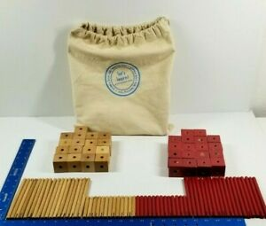 Pottery Barn Kids Learning Toys Wood Blocks 97 PCS Sensory Building Block