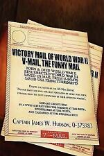 Victory mail of world war II : V-mail, the funny Mail by Jim Helmore (2007,...