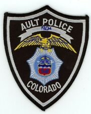 AULT POLICE COLORADO CO COLORFUL STYLE #3 SEE BELOW FOR GREAT DEAL
