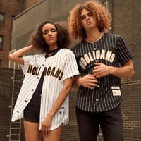 Mitchell & Ness Bruno Mars Hooligans 24k Baseball Jersey Size Small $175 MSRP