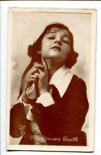 IRENE CASTLE-SILENT STARLET-1920-ARCADE CARD G