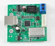 LJM USB to SPDIF coaxial I2S SA9023 processor chip 24bit/96K DAC assembled board