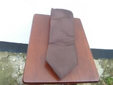 Tie Rack 100% silk brown tie NEW WITH TAGS!!!
