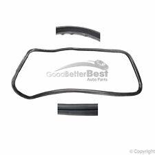 For Porsche 911 Coupe 912 930 65-94 Pair Set of 2 Door Seals German 91153109503