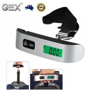 New 50kg Digital Scale  Portable Luggage Travel Fishing Measure Weight Accurate