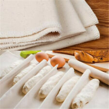 Bakers Proofing Couche Flax Linen Cloth For Proving Bread Pans Kitchen Tool