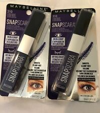 2 MAYBELLINE SNAPSCARA 310 ULTRA VIOLET SMOOTH CLUMP-FREE VOLUME New