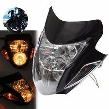 Streetfighter Street fighter Motorcycle Headlight Head Light Turn Signal Lamp US